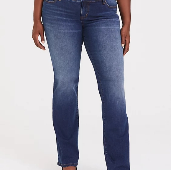 Torrid Relaxed Bootcut Stretch Vintage Jean